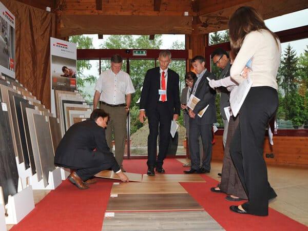 Световна премиера на Egger Floorline 2012