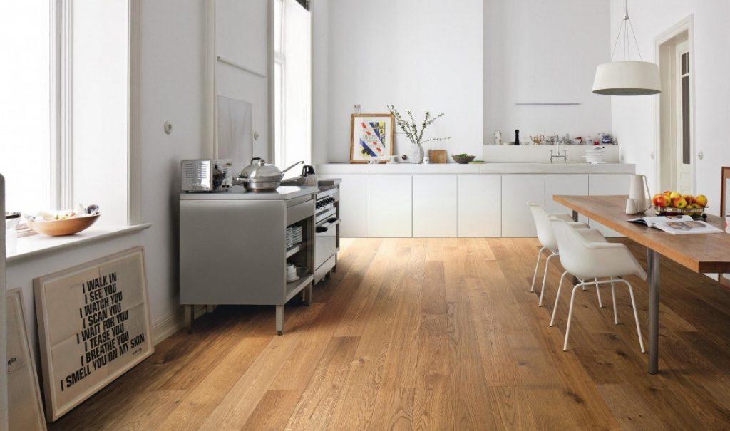Кухнята и подовата настилка